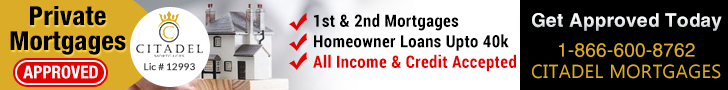 Citadel Mortgages - Private Mortgages Banner