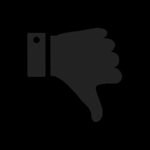 Dislike_down_hand