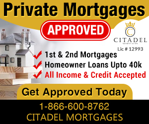 Private Mortgages Approved - Citadel Mortgages