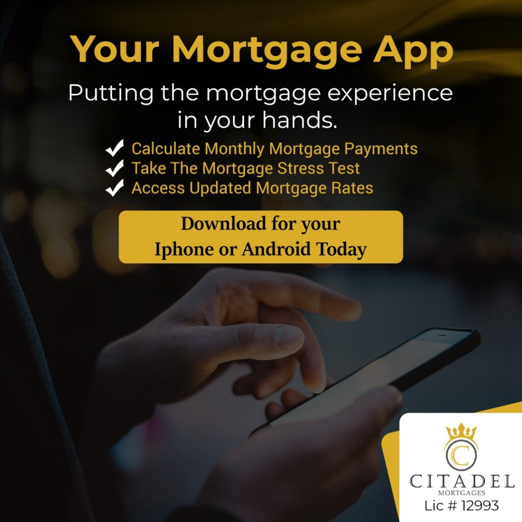 Your Mortgage App - Citadel Mortgages